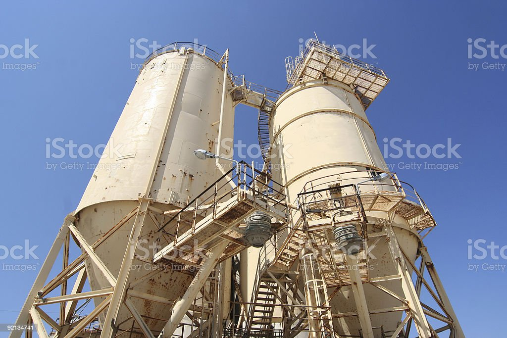 Cement Industry royalty-free stock photo
