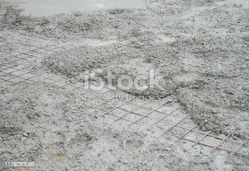 1138442636istockphoto Cement mortar on the surface 1179283085