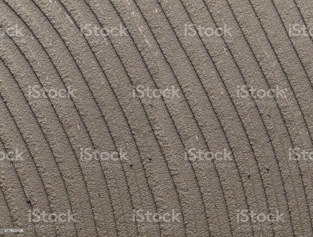 cement on the wall closeup stock photo