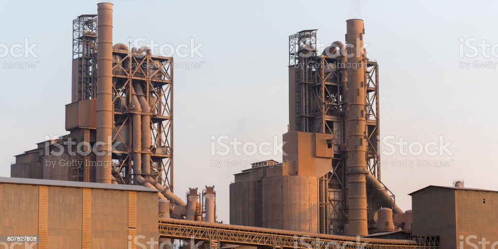 Zement plant  – Foto