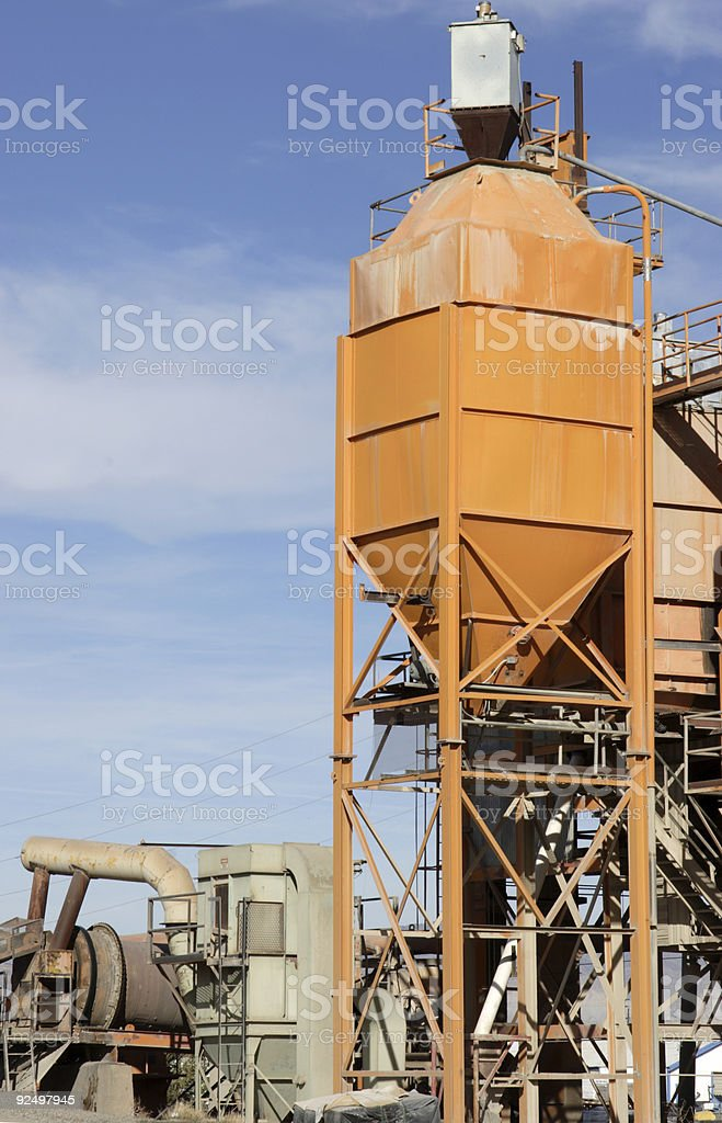 cement plant royalty-free stock photo