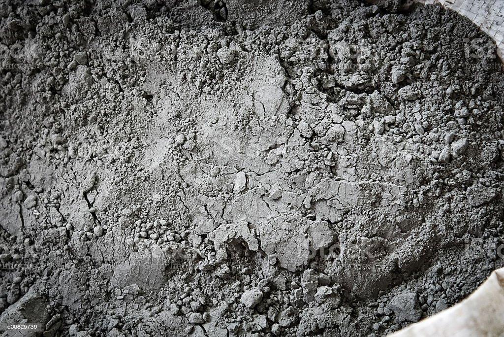 Zement-powder in Tasche Struktur – Foto