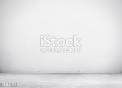 istock Cement Wall and Floor for Copy Space 492821131