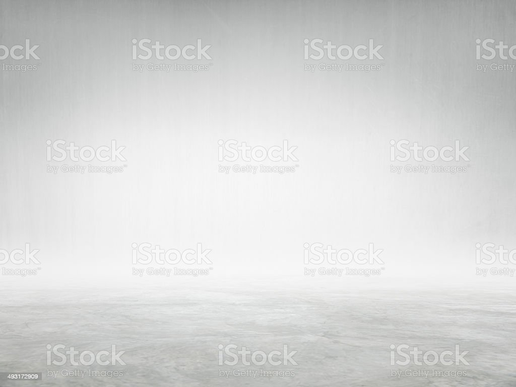 Pared de cemento y de piso con espacio de copia - foto de stock