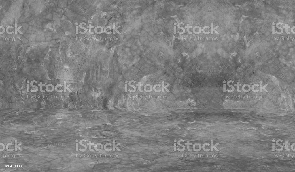 Cement wall and floor royalty-free stock photo