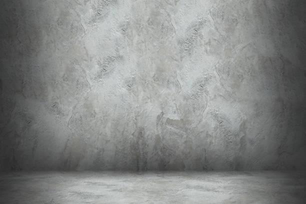 betonmauer und stock mit schatten für design - betonboden wohnzimmer stock-fotos und bilder