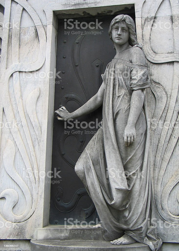 Cementary of Buenos Aires stock photo