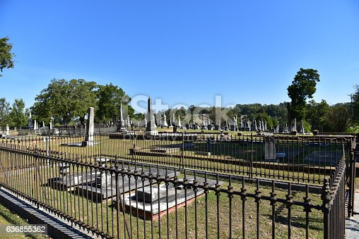 Cementery in Montgomery