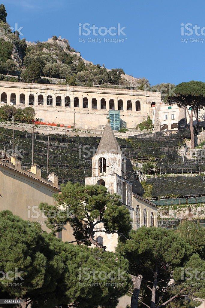 Cemetery Amalfi(Italy) royalty-free stock photo