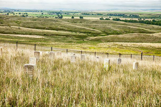 Friedhof und am Little Bighorn Battlefield – Foto