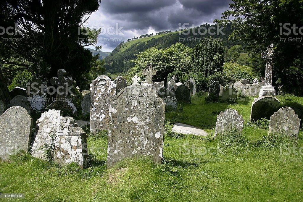 Cemetery calm 01 royalty-free stock photo