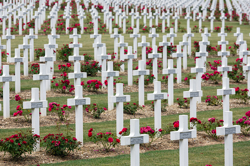 Cemetery First World War soldiers died at Battle of Verdun, France