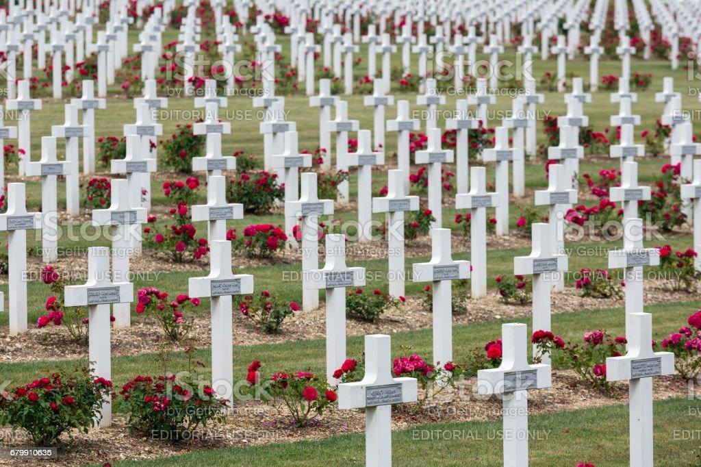 Soldats de première guerre mondiale de cimetière est morts à la bataille de Verdun, France - Photo