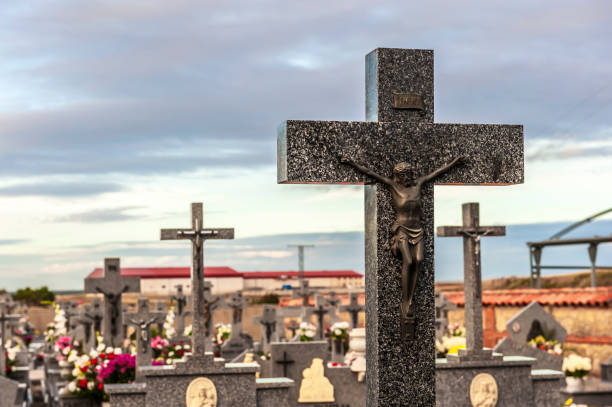 Cementerio. - foto de stock