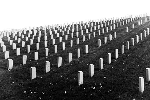 Cemetery in el Presidio, San Francisco, California
