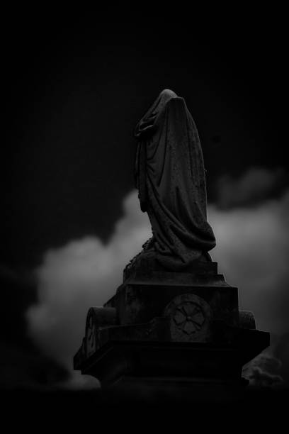Cemetery in Rome, Georgia stock photo
