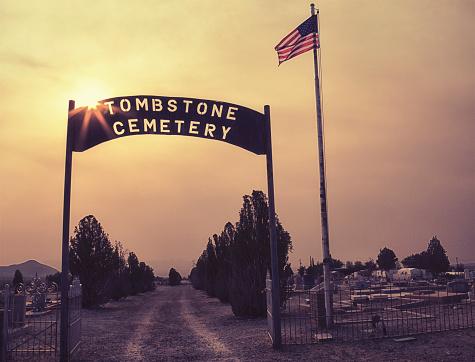 Cemetery in Tombstone, Arizona