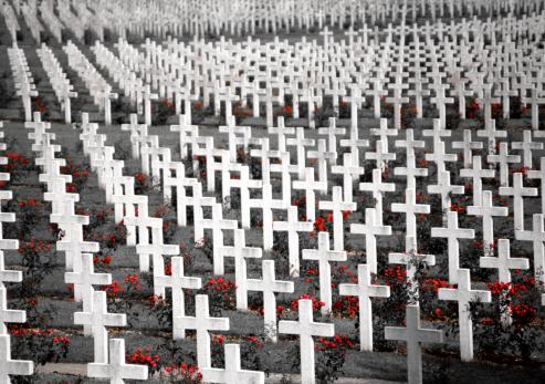 WWI Cemetery in Verdun