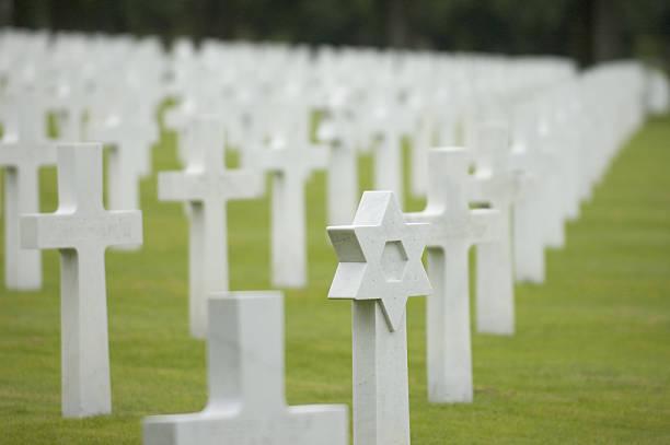 U.S. WW1 cemetery near Verdun, France stock photo
