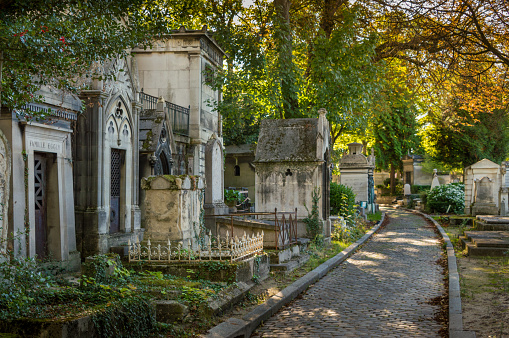 Cemetery of Père Lachaise, Paris, France