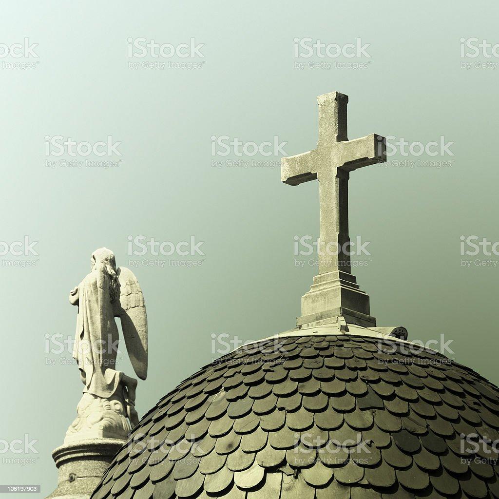 Cemetery of the Recoleta, Buenos Aires, Argentina stock photo