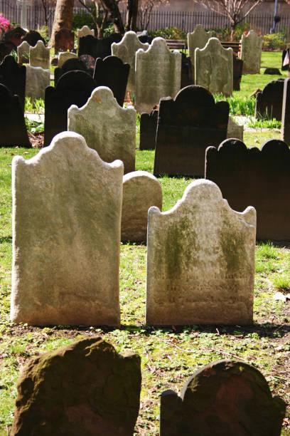 Cemetery stock photo