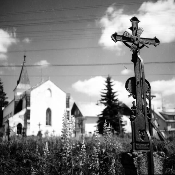 A  Cemetery stock photo