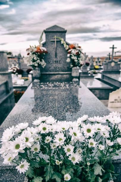 Cementerio - foto de stock