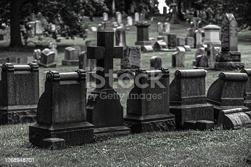 istock Cemetery 1268948701