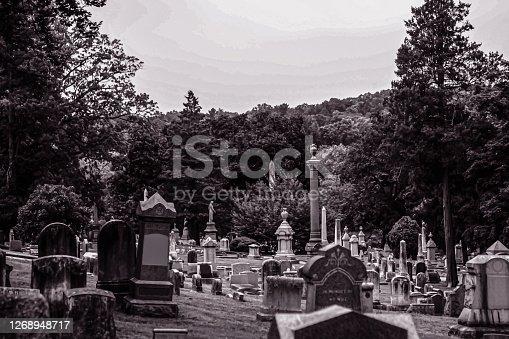 istock Cemetery 1268948717