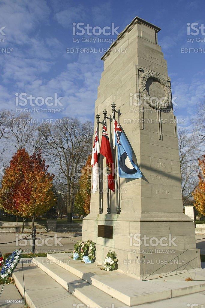 Cenotaph royalty-free stock photo