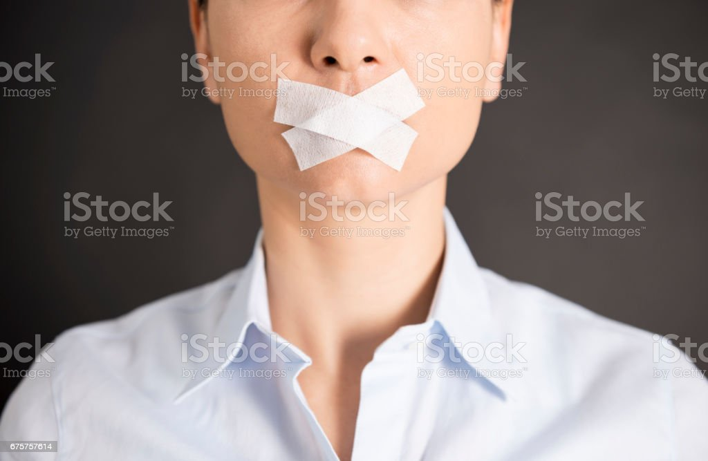 Censorship stock photo