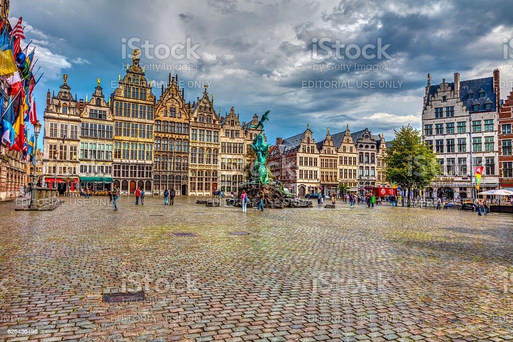 Cental square Antwerp – Foto