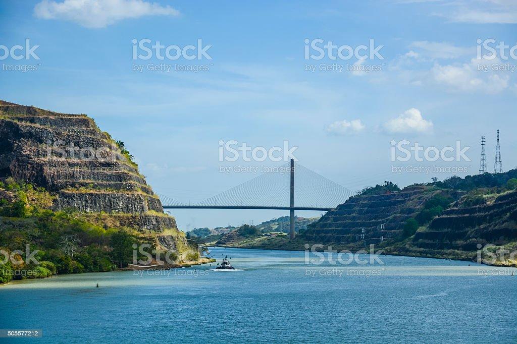 センタニアル橋、パナマ運河 - つながりのロイヤリティフリーストックフォト