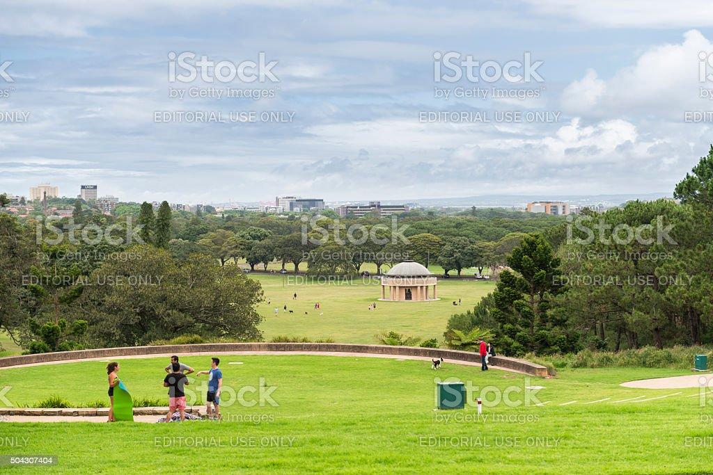 Centennial Park Sydney stock photo