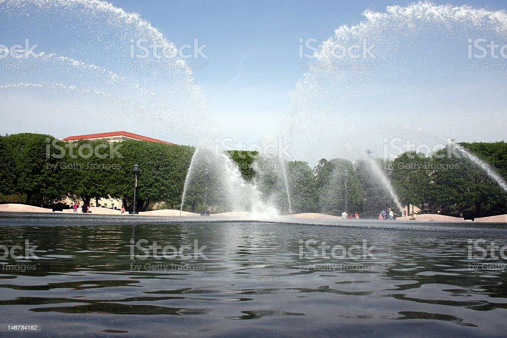 Centennial Pond stock photo
