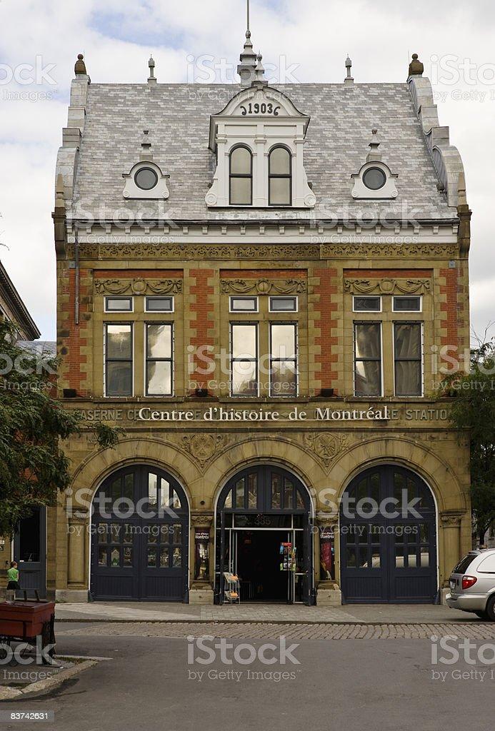 Centro storico di Montreal foto stock royalty-free