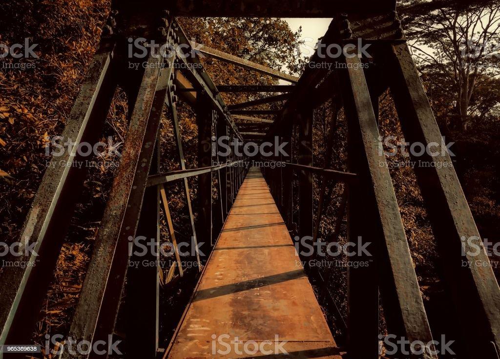 Center Golden Bridge royalty-free stock photo