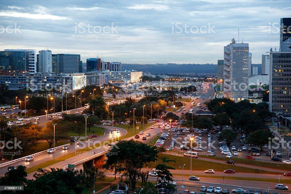 Centro de Brasília (Brasil - foto de stock