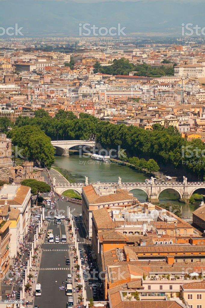 Center of Rome стоковое фото