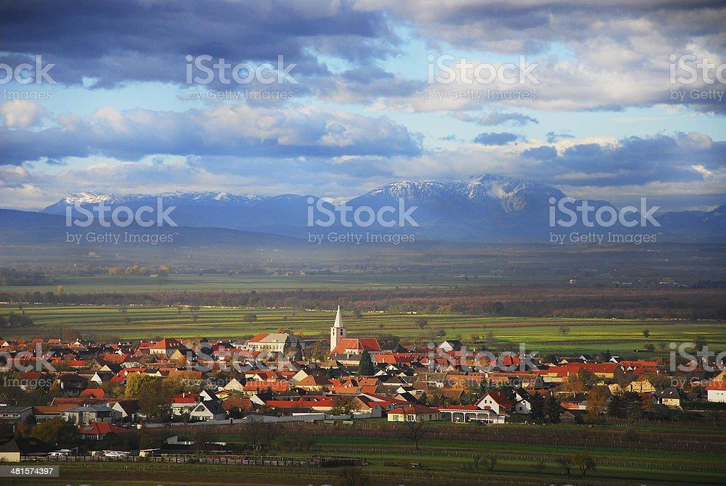 Stadtzentrum von St. Margaret Im Burgenland – Foto