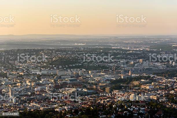 Zentrum Der Stuttgarter City In Deutschland Schöne Historische Stadt Stockfoto und mehr Bilder von Alt
