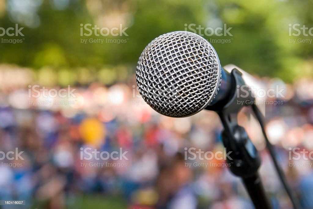 Center Stage royalty-free stock photo