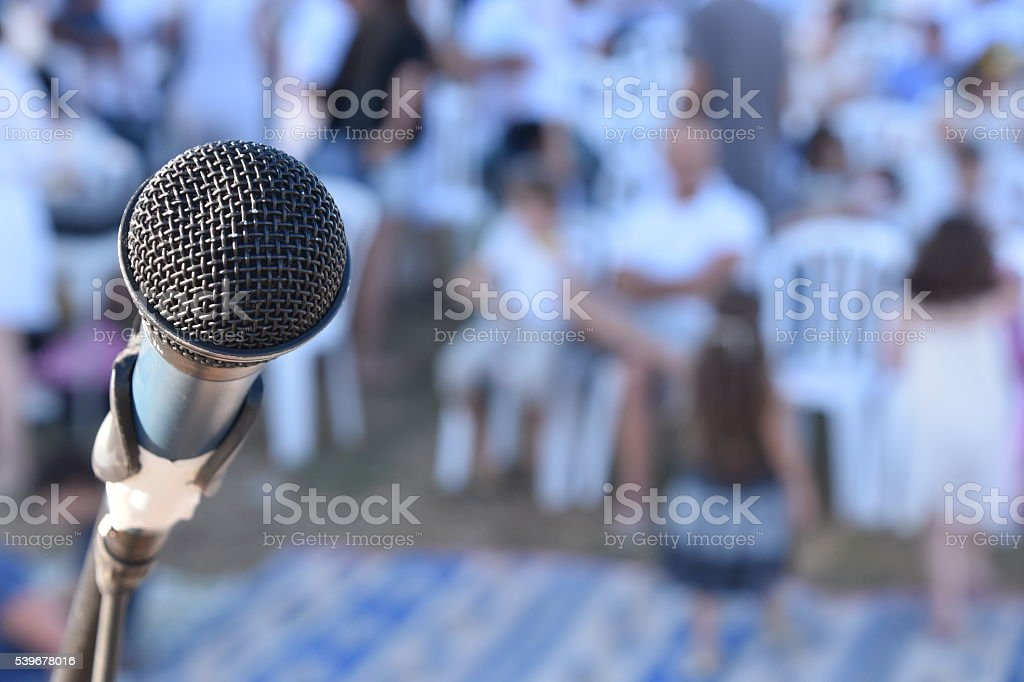 Center Stage stock photo