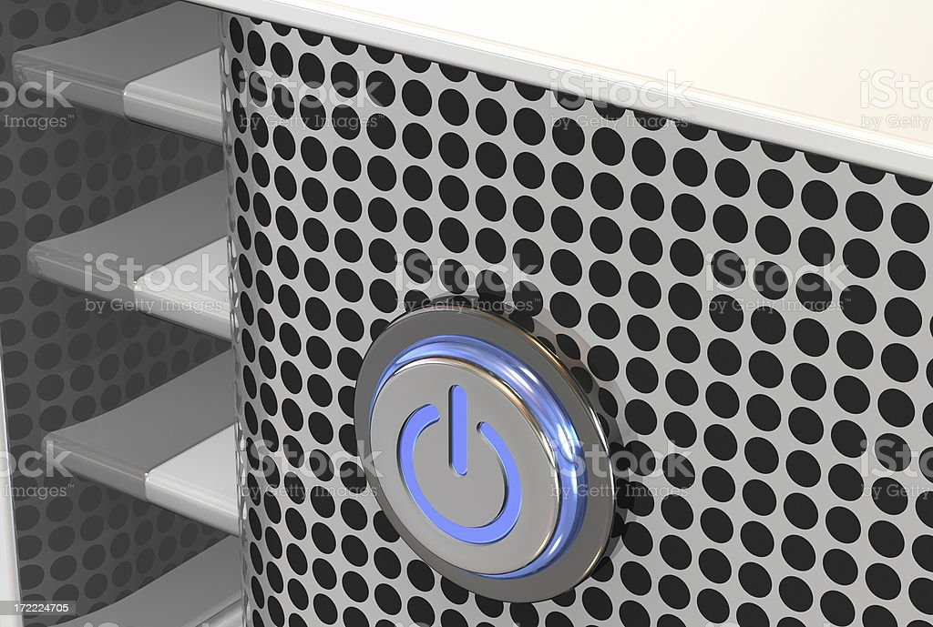 center storage server 008 royalty-free stock photo