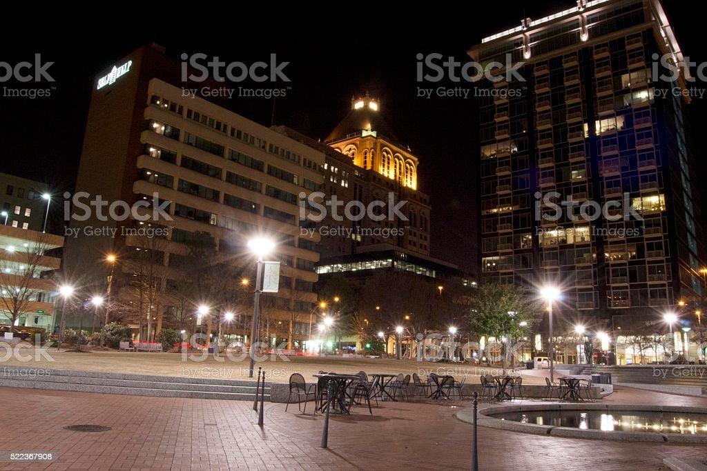 Center_City_Park stock photo