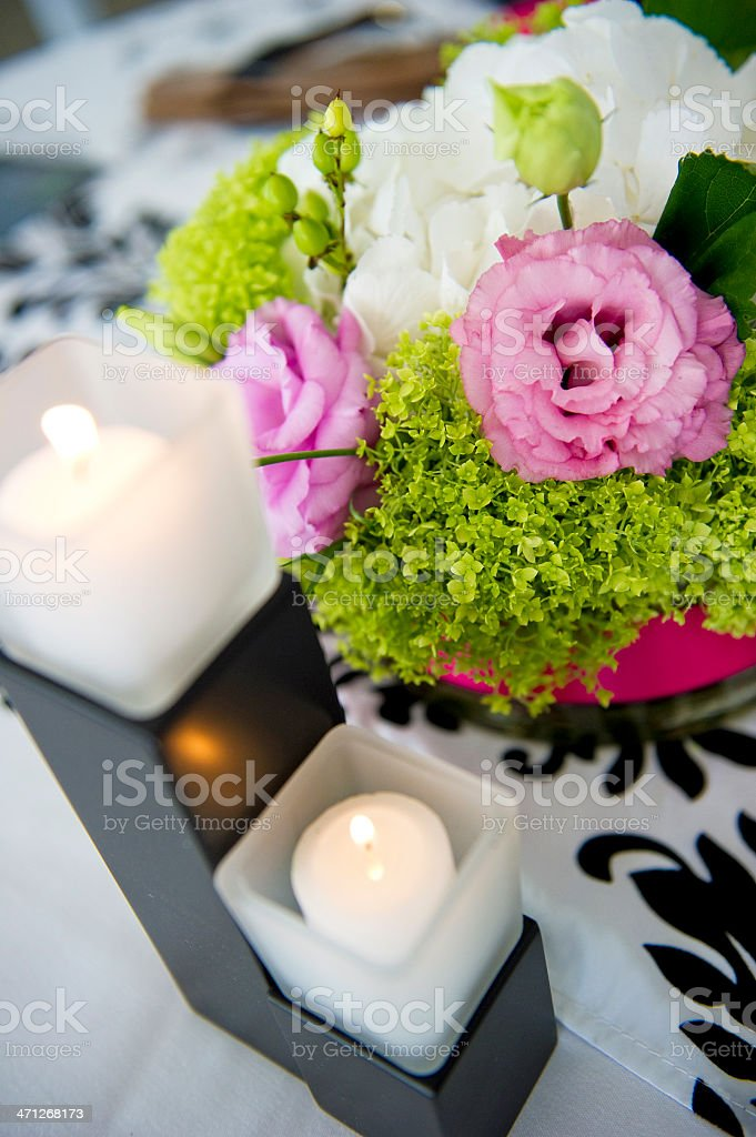 Centerpiece royalty-free stock photo