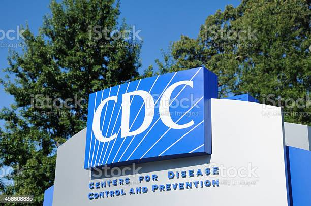 Centers For Disease Control And Prevention Sign Stock Photo - Download Image Now