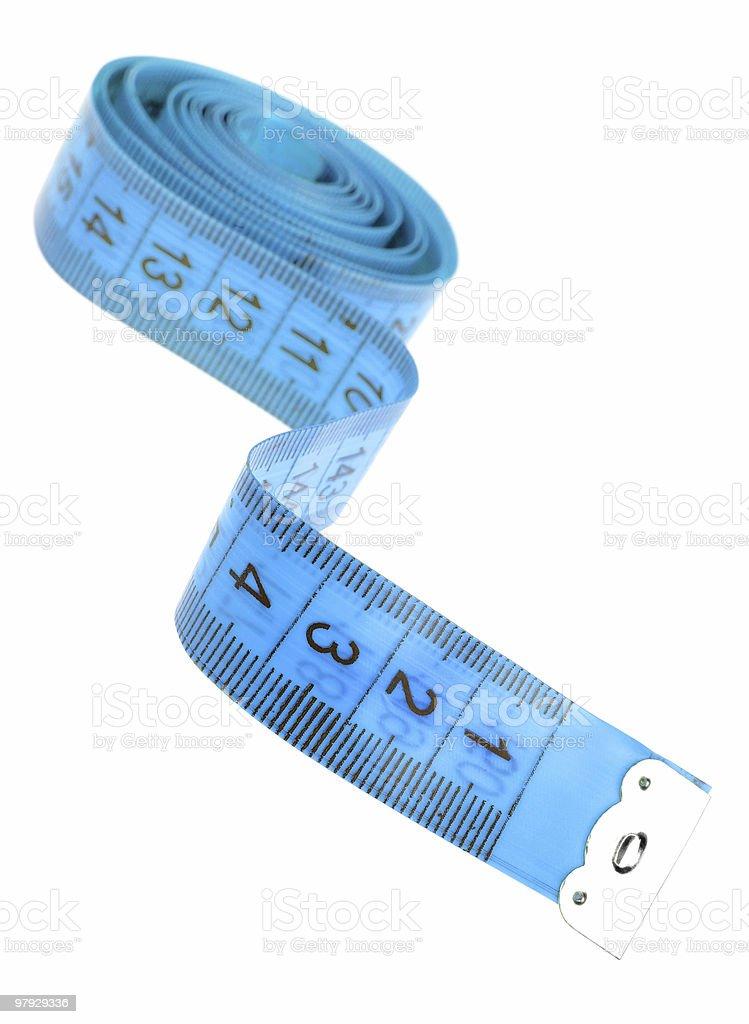 Centimeter tape royalty-free stock photo