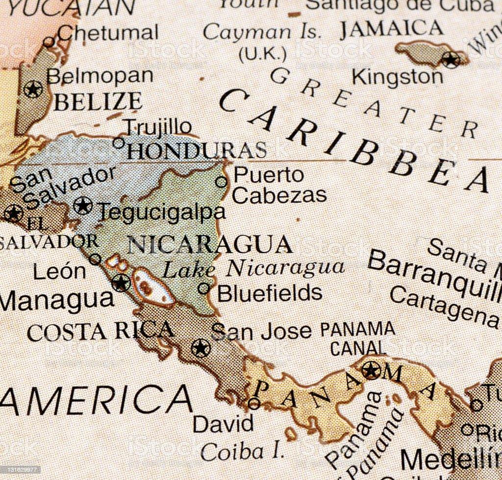 Central America stock photo